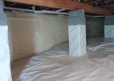 insulation area 6