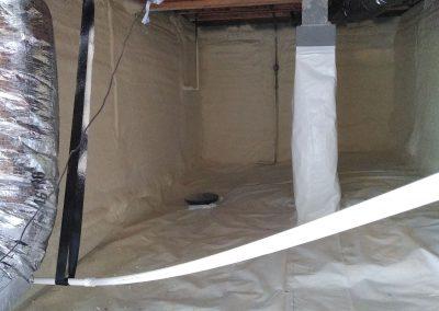 insulation area 7