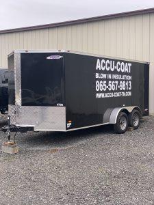Accu-Coat Spray Foam trailer